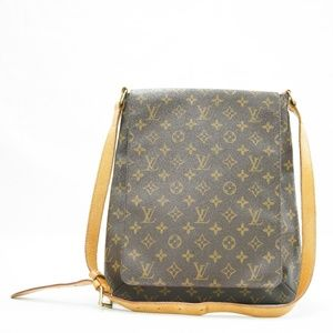 Louis Vuitton Musette Salsa GM Shoulder Bag Mono